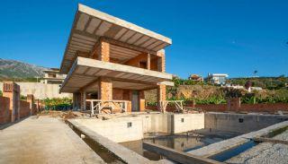 Uniquely Designed Private Villa in Alanya Kargicak, Construction Photos-7