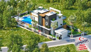 Unikt Utformad Privat Villa i Alanya Kargicak, Alanya / Kargicak
