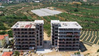 Eleganta Lägenheter i Alanya Centrala Läge av Mahmutlar, Byggbilder-1