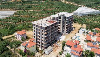 Eleganta Lägenheter i Alanya Centrala Läge av Mahmutlar, Byggbilder-2