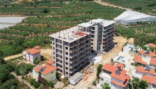 Elegante Alanya Wohnungen im Zentrale Lage Mahmutlar , Foto's Bau-2