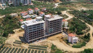 Elegante Alanya Wohnungen im Zentrale Lage Mahmutlar , Foto's Bau-3