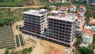 Elegante Alanya Wohnungen im Zentrale Lage Mahmutlar , Foto's Bau-4