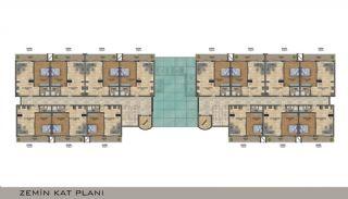 Eleganta Lägenheter i Alanya Centrala Läge av Mahmutlar, Planritningar-2
