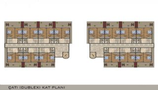 Elegant Alanya Apartments in Central Location Mahmutlar , Property Plans-4