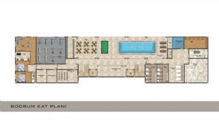 Elegant Alanya Apartments in Central Location Mahmutlar , Property Plans-5