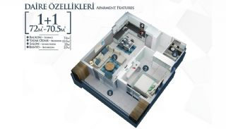 Well-Located Cosmopolitan Apartments in Alanya Turkey, Property Plans-1
