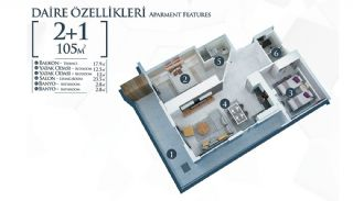 Well-Located Cosmopolitan Apartments in Alanya Turkey, Property Plans-2