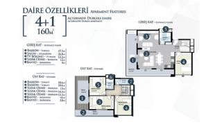 Well-Located Cosmopolitan Apartments in Alanya Turkey, Property Plans-7