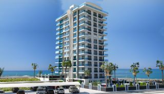 Strandzijde Appartementen met Eersteklas Dekor in Alanya, Alanya / Mahmutlar