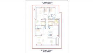 Appartements Bord de Mer d'Installations de Qualité à Alanya, Projet Immobiliers-3