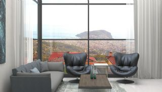 Sea and Nature View Independent Villas in Alanya Tepe, Interior Photos-2