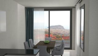 Sea and Nature View Independent Villas in Alanya Tepe, Interior Photos-5