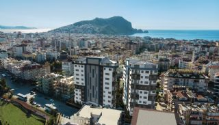 New Apartments with Private Beach and Pier in Alanya Center, Alanya / Center