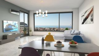 New Apartments with Private Beach and Pier in Alanya Center, Interior Photos-2