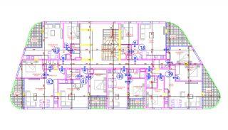 Appartements Avec Plage Privée et Jetée au Centre d'Alanya, Projet Immobiliers-1