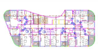 Appartements Avec Plage Privée et Jetée au Centre d'Alanya, Projet Immobiliers-2