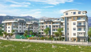 Exclusive Apartments with Taurus Mountain View in Alanya, Alanya / Oba