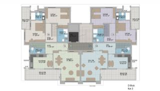 Exclusive Apartments with Taurus Mountain View in Alanya, Property Plans-7