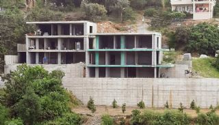 Luxury Central Villas with Sea and Castle Views in Alanya, Construction Photos-2
