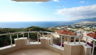 Duplex Villas Overlooking the Sea in Kargicak, Alanya, Interior Photos-20