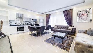 Eersteklas Appartementen 650m van Mahmutlar Strand in Alanya, Interieur Foto-1