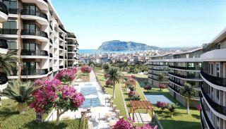 Centrally Located Alanya Apartments in Oba with Sea View, Alanya / Oba