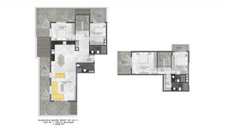 First-Class Flats with Sea View in Alanya Mahmutlar, Property Plans-5