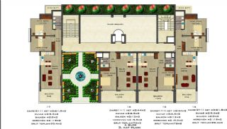 Quality Apartments Surrounded by Social Amenities in Alanya, Property Plans-2