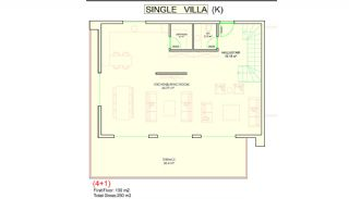 Sea View Alanya Villas with Private Pool and Garden, Property Plans-4