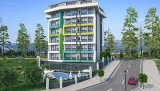 New 1+1 Apartments in Alanya 800 mt to the Beach, Alanya / Avsallar