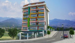 New 1+1 Apartments in Alanya 800 mt to the Beach, Property Plans-2