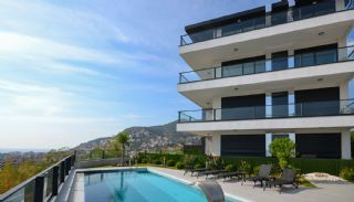 Sea and Nature View Duplex Apartments in Alanya Center, Alanya / Center