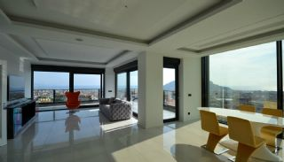 Sea and Nature View Duplex Apartments in Alanya Center, Interior Photos-1