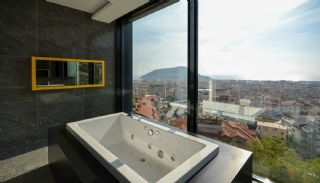 Sea and Nature View Duplex Apartments in Alanya Center, Interior Photos-13