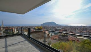 Sea and Nature View Duplex Apartments in Alanya Center, Interior Photos-15