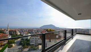 Sea and Nature View Duplex Apartments in Alanya Center, Interior Photos-16