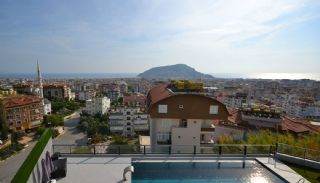 Sea and Nature View Duplex Apartments in Alanya Center, Interior Photos-17