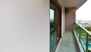 شقق دوبلكس 3+1 جاهزة في ألانيا مع مولد, تصاوير المبنى من الداخل-15