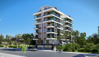 Investment Apartments in Mahmutlar 450 mt to the Beach, Alanya / Mahmutlar