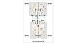 Seafront Apartments in Alanya, Mahmutlar with Luxury Design, Property Plans-5