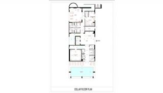 Seafront Apartments in Alanya, Mahmutlar with Luxury Design, Property Plans-7