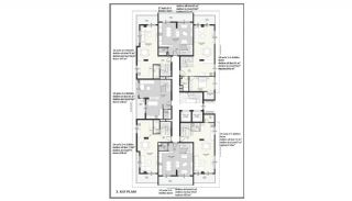 Sea View Elegant Properties with Rich Facilities in Alanya, Property Plans-3