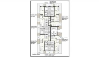 Sea View Elegant Properties with Rich Facilities in Alanya, Property Plans-4