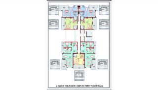 Smart Alanya Real Estate 600 mt to the Beach in Mahmutlar, Property Plans-2