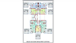 Smart Alanya Real Estate 600 mt to the Beach in Mahmutlar, Property Plans-5