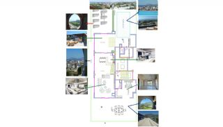 Sea and Nature View Alanya Penthouse in Turkey, Property Plans-2