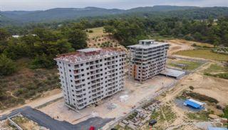 Neue Wohnungen in Avsallar Alanya mit Natur und Meerblick, Foto's Bau-2