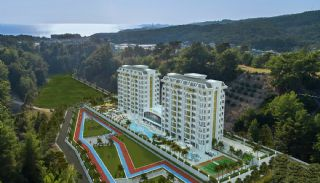 New Apartments in Avsallar Alanya with Nature and Sea View, Alanya / Avsallar - video