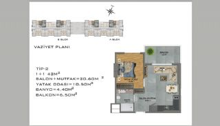 New Apartments in Avsallar Alanya with Nature and Sea View, Property Plans-2